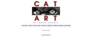 Cat Art by Howard Cossman