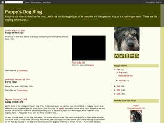 Pappy's Dog Blog