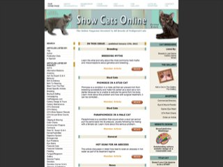 Show Cats Online