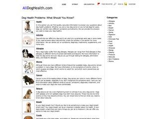All Dog Health