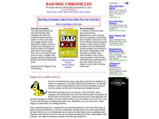 Bad Dog Chronicles