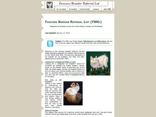 Fanciers Breeder Referral List