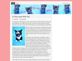 Cat Lover Site