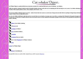 Cat Whisker Digest