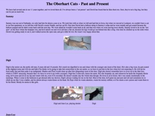 The Oberhart Cats