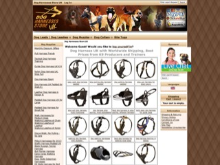 Dog Harnesses Store