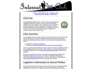 Internet Cat Club