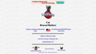 NetPet's Cat Rescue/Shelters