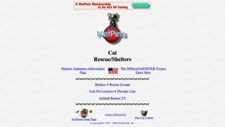 NetPet's Cat Rescue/Shelters