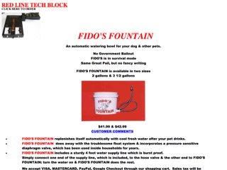 Fido's Fountain