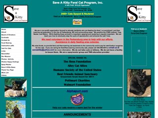 Save a Kitty Feral Cat Program